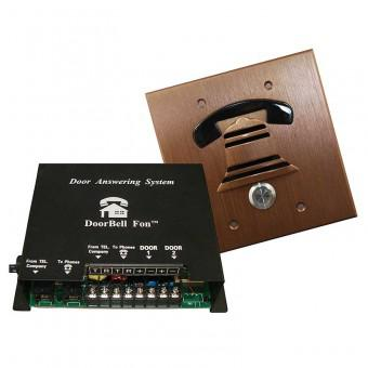 DoorBell Fon DP38BZF 2-Gang Door Station Kit, Bronze