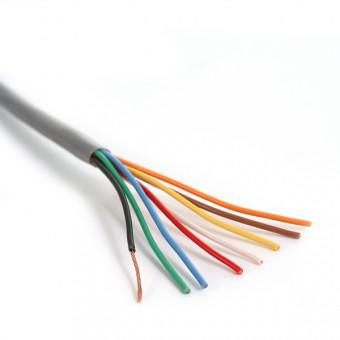 8 Cond 22-Ga Unshielded Cable, 500 Ft
